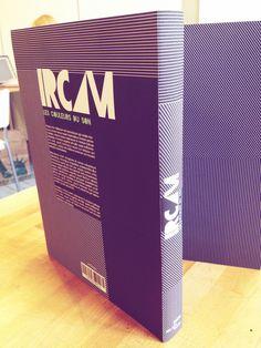 IRCAM les couleurs du son : création d'une couverture de livre d'art et sa jaquette
