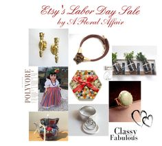 """""""Etsy's Labor Day Sale by A Floral Affair"""" by afloralaffair-1 on Polyvore featuring interior, interiors, interior design, home, home decor, interior decorating, rustic and vintage"""