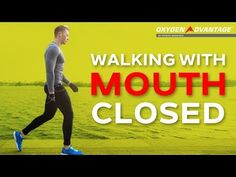 Nose Breathing - Walking With Mouth Closed - Oxygen Advantage Breathe Easy, Health And Beauty, Insight, How Are You Feeling, Walking, Social Media, Feelings, Youtube, Exercises