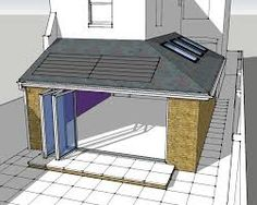 Pergola Kits Attached To House Info: 5102347427 House Extension Plans, House Extension Design, House Design, Single Storey Extension, Side Extension, Extension Ideas, Extension Google, Garden Room Extensions, House Extensions