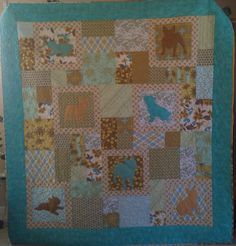 French Bulldog quilt- made to raise money for the French Bulldog Rescue Network.