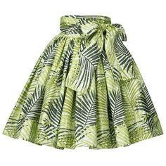 Image of Flow Skirt (Palm Leaf Print) African Dresses For Kids, African Maxi Dresses, Latest African Fashion Dresses, African Attire, African Fashion Traditional, African Print Skirt, Image, Metallic Skirt, Cotton Skirt