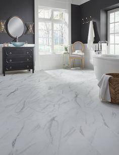 Legacy Luxury Vinyl Tile Flooring, Vinyl Plank Flooring, Luxury Vinyl Plank, Vinyl Flooring Bathroom, White Marble Flooring, Vinyl Planks, Bathroom Vinyl, Kitchen Vinyl, Glass Bathroom