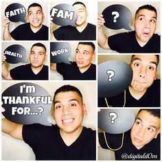 """""""WHAT ARE YOU THANKFUL FOR??? -------------------------------------------------Hey FAM, Do you want to shoutoutsomeone or something in my next YOUTUBE…"""""""