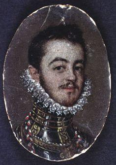 Don Juan de Austria (?)XOX Retrato masculino Alonso Sánchez Coello.