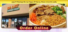 Da Lat Vietnamese Cuisine - Las Vegas - NV - 89103 - Menu - Vietnamese - Online Food Delivery Catering in Las Vegas