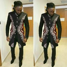 Items similar to African Mens Dashiki Jacket/African clothing/African Mens Jacket/African Mens clothing/African print mens wear/African mens top and bottom/A on Etsy African Dresses Men, African Clothing For Men, African Men Fashion, Africa Fashion, African Attire, African Wear, African Style, Tribal African, African Outfits