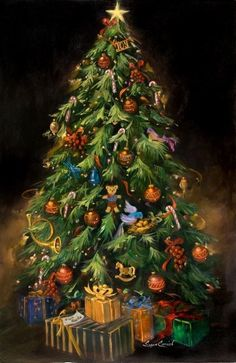 #137 O Christmas Tree, by Susan Comish