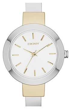 DKNY 'Stanhope' Bangle Watch, 28mm available at #Nordstrom