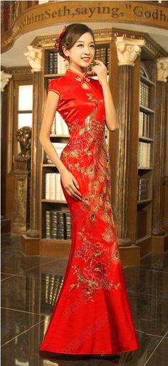 Kwa Qipao Chinese Wedding Dress Gown