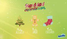 En esta Navidad te deseamos lo mejor, Familia®.