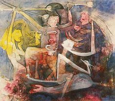 History of Art: Roberto Matta Fantastic Art, All Art, Sculpture Art, History, Abstract, Canvas, 1984, Recherche Google, Grande