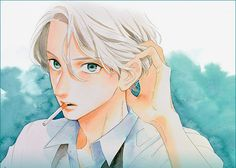 Manga Love, Anime Love, Daytime Shooting Star, Tsubaki Chou Lonely Planet, Hirunaka No Ryuusei, Manga Artist, Handsome Anime Guys, Manga Characters, Manga Pictures