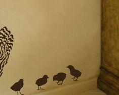Fliegende Vögel 3 pc Kit  wiederverwendbare Vogel-Schablonen