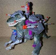 Dino-riders, these were badass. I still have some as well as the original VHS cartoons, sweet.