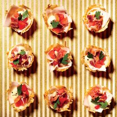 Inside-Out Hot Brown Bites - Southern Living