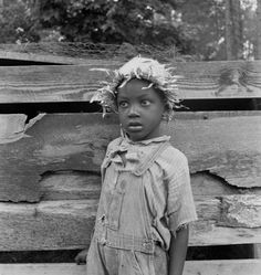 Grandson of Negro tenant whose father is in the penitentiary.     Granville County, North Carolina, 1939