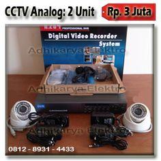 Paket Kamera CCTV Analog