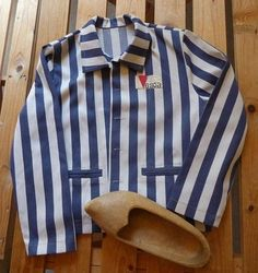 Recreation of the uniforms and clogs prisoners wore in Vught Concentration camp