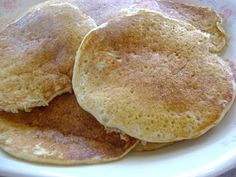 Simple Soaked Pancakes  #nourishing