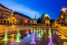 Pécs belvárosi hangulatkép