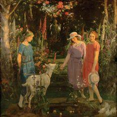 George Harcourt (English, 1868 - 1948) - Amaryllis, c.1924