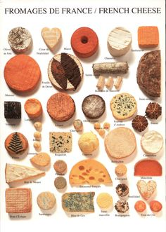 """Ma vie á Paris: """"How can anyone govern a nation that has two hundred and forty-six different kinds of cheese?"""" - Charles de Gaulle"""