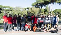JCU's Ipazia Club decided to Walk a Mile in Her Shoes!