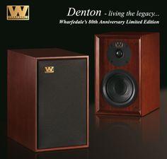 Denton speakers by Wharfdale