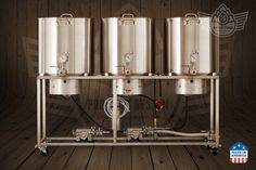 26 gallon Brew System manufactured in the States for $US3,850.00