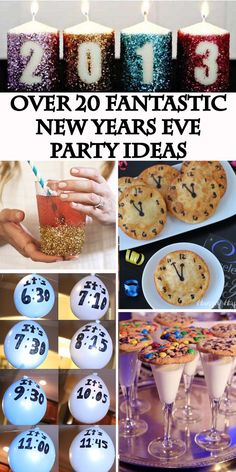 New Years Eve Party Ideas - The Keeper of the Cheerios