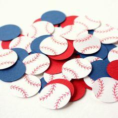 Baseball Confetti . Sports Themed Table Confetti . Diecuts. Baseball Party Decor. Baseball Decorations . Sports Confetti . Baseball Birthday by ForeverYoursTruly on Etsy https://www.etsy.com/listing/245577788/baseball-confetti-sports-themed-table