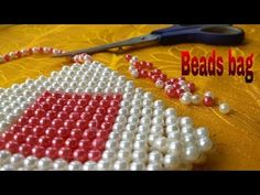 How to make beads bag(Mobile bag) made by Arpita creation. Beaded Purses, Beaded Bags, Diy Jewelry Projects, Beaded Crafts, Thread Jewellery, How To Make Handbags, Crochet Handbags, Beads And Wire, Beading Tutorials