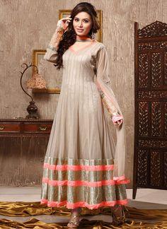 Gorgeous Net Ankle Length Anarkali Suit