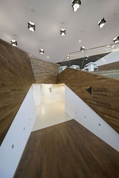 EYE Film Institute in Amsterdam by Delugan Meissl Associated Architects.
