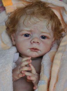 Alla-nino-recien-nacido-bebe-Nina-Muneca-Reborn-prototipo-karlotta-Karola-wegerich