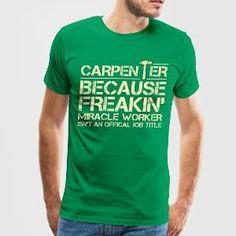 Carpenter  - Men's Premium T-Shirt
