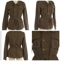 Utility Jacket  Order from - http://www.facebook.com/#!/pages/Hey-Good-Lookin-Boutique/365284796885361