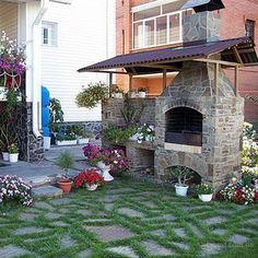 Функциональное зонирование сада: фото, как устроить зону отдыха, детскую площадку, входную зону и барбекю