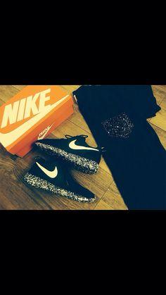 Custom Cookies N Cream Nike Roshe Run Exclusive by MasterRoshes, $160.00 nike shoes #nike #shoes