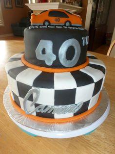 "6"" & 10"" Fondant Camaro Cake"