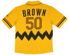 Peanuts Charlie Brown Baseball Jersey