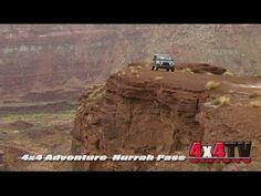 Hurrah Pass Trail Moab Utah in Jeep Rubicon - 4x4TV Adventure Series Videos Moab Utah, Jeep Rubicon, Trail, Spaces, Adventure, Videos, Adventure Movies, Adventure Books