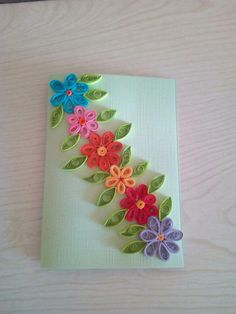 Paper Quilling For Beginners Quilling Birthday Cards, Paper Quilling Cards, Paper Quilling Flowers, Paper Quilling Patterns, Quilling Craft, Quilling Ideas, Paper Quilling For Beginners, Quilling Techniques, Quilling Flowers Tutorial