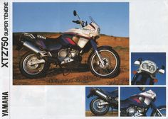 Stammbaum XTZ 750 Super Tenere