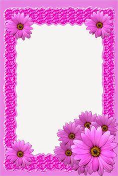Framed Wallpaper, Phone Screen Wallpaper, Phone Wallpapers, Borders For Paper, Borders And Frames, Flower Frame, Flower Art, Scrapbook Paper, Scrapbooking