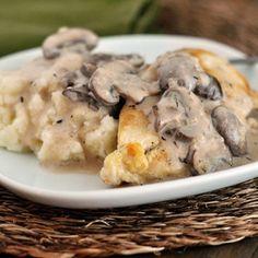 Smothered+Chicken+with+Mushroom+Gravy+Recipe+-+ZipList