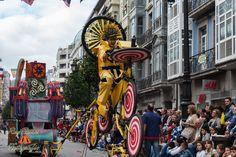 Actuación en Oviedo - Desfile del Día de America 2012