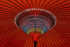 Japanese umbrella from Phil Hill photography #umbrella #red #rainbow