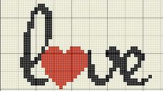 Brilliant photo – see our content article for many more choices! Geniales Foto – in unserem Inhaltsartikel finden Sie Tiny Cross Stitch, Cross Stitch Bookmarks, Cross Stitch Heart, Cross Stitch Alphabet, Cross Stitch Flowers, Cross Heart, Graph Paper Drawings, Graph Paper Art, Wedding Cross Stitch Patterns